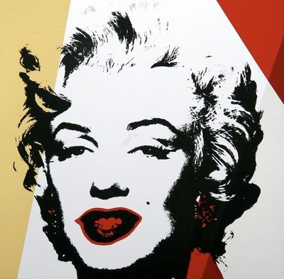 Andy Warhol Golden Marilyn III Serigraph Sunday B. Morning