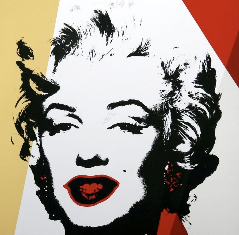 Andy Warhol Golden Marilyn III Siebdruck Sunday B. Morning