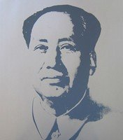 Andy Warhol Mao Silver Serigraph Sunday B. Morning
