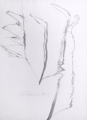 Gerhard Hoehme Zeichnung o.T. I