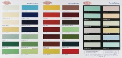 Damien Hirst Colour Chart H2 Original Grafik