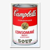 Andy warhol campbells soup consomme sunday b morning 4054 small