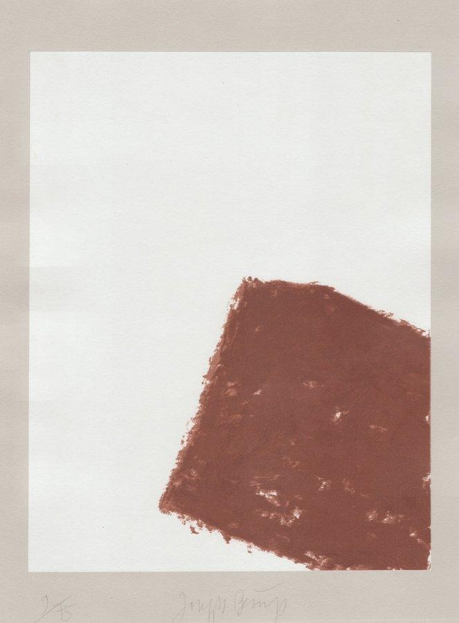Joseph Beuys Print Schwurhand: Wandernde Kiste Nr. 3
