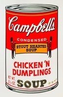 Andy warhol campbells soup can series ii set sunday b morning 4273 small