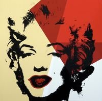 Andy Warhol Golden Marilyn VIII Siebdruck Sunday B. Morning
