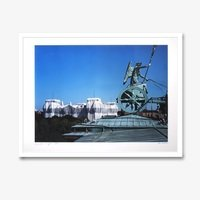 Christo und jeanne claude reichstag berlin i wrapped 2419 small