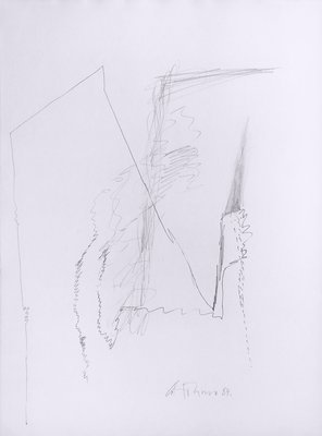 Gerhard Hoehme Drawing Untitled III