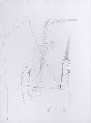 Gerhard Hoehme Zeichnung o.T. III