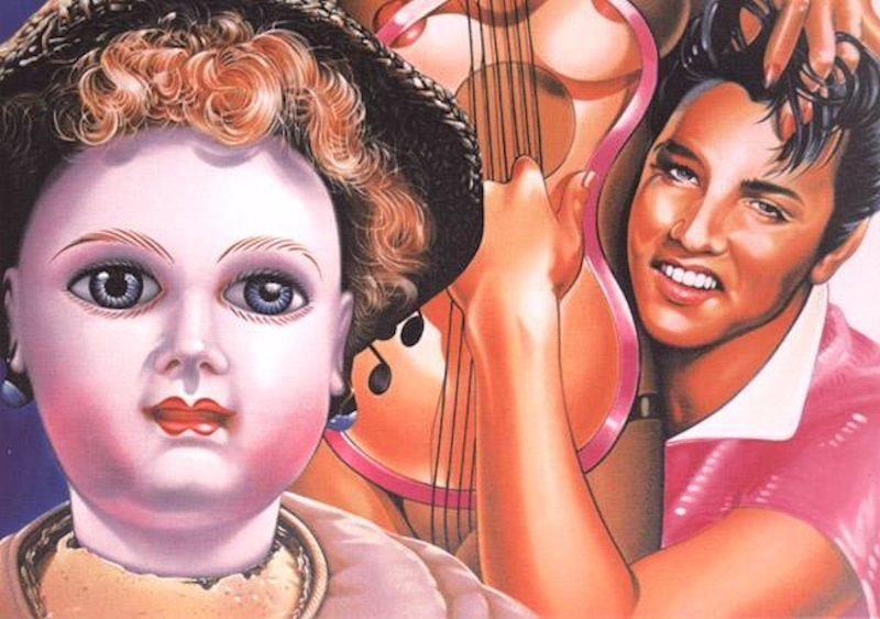 Erro Elvis Grafik Lithographie