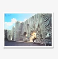Christo und jeanne claude wrapped roman wall 3024 small
