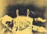 Antoni Tapies Bild Druckgrafik Dentelle