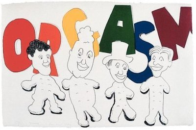 Jim Dine Lithographie Grafik Orgasm