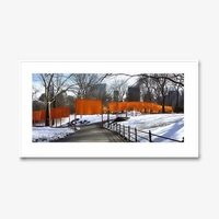 Christo und jeanne claude the gates weggabelung 2425 small