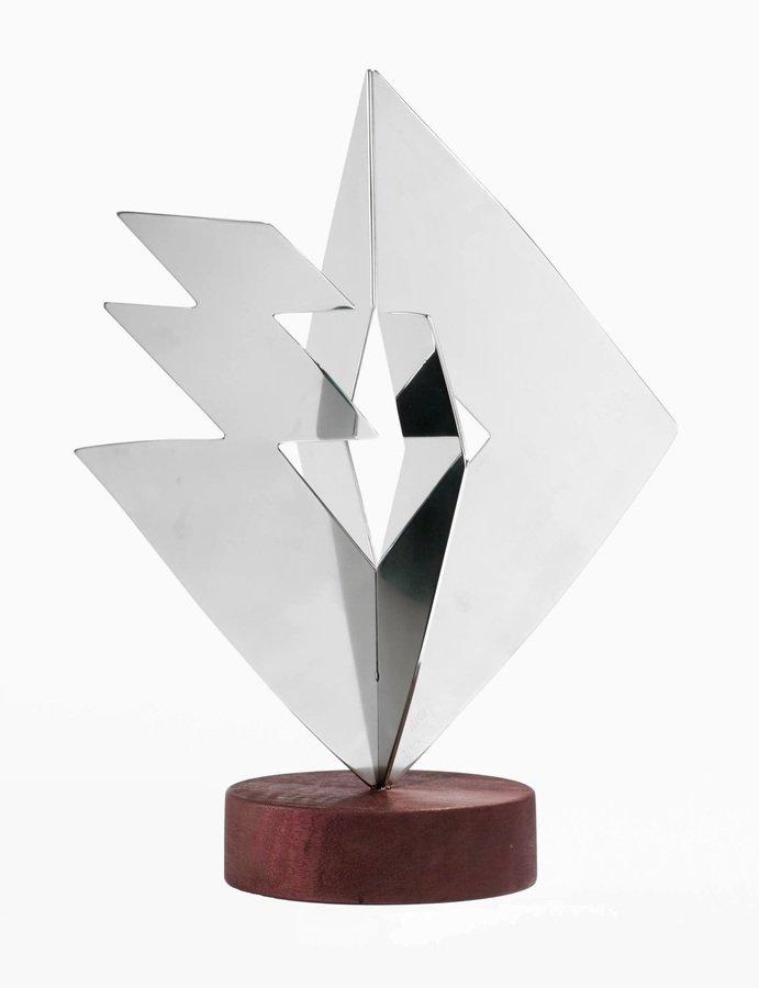 Heinz Mack Idee und Materie Skulptur