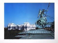 Christo and Jeanne-Claude Reichstag Berlin I Wrapped Photograph