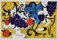 Stefan Szczesny Print Birthday Suite - Bowl of Grapes