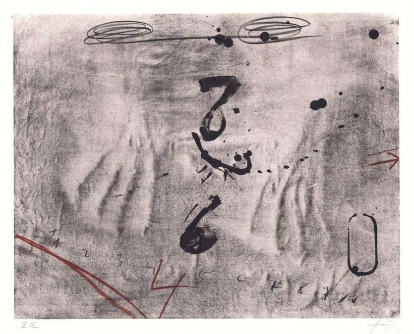 Antoni Tapies Druckgrafik Empreintes de Mains