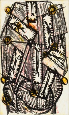 Markus Lüpertz Otello III Print Etching