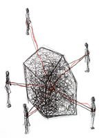 Chiharu Shiota Follow the Line Print Lithograph