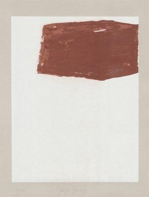 Joseph Beuys Schwurhand: Wandernde Kiste Nr. 2 Print