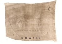 Antoni Tapies Lithograph Variations VII: Chaise