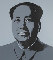 Andy Warhol Mao Serigraph Sunday B. Morning Grey