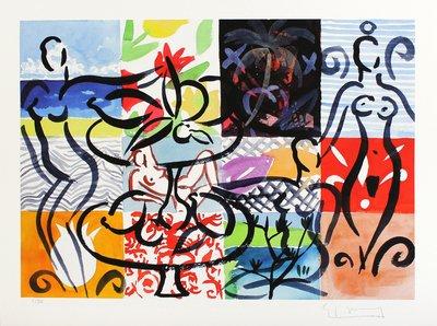 Stefan Szczesny Grafik Die vielen Facetten von Mustique