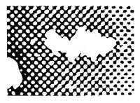 Sigmar Polke Flopp Grafik Siebdruck