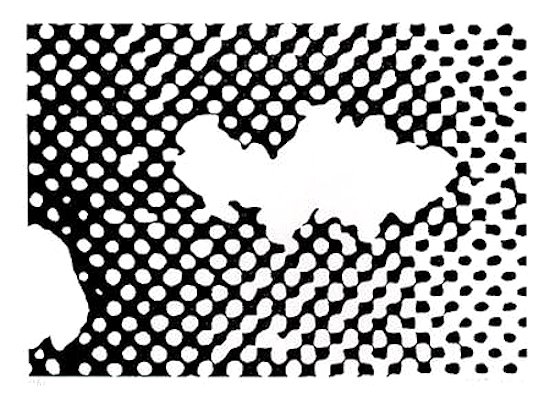 Sigmar Polke Flopp Print Serigraph