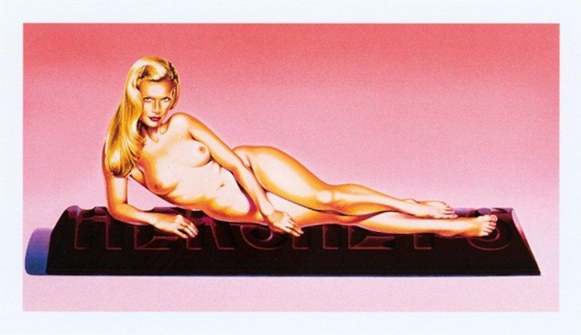 Mel Ramos Sweet Odalisque Grafik Lithografie