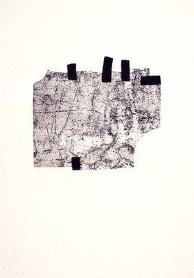 Eduardo Chillida Etching Print Gegen die Folter