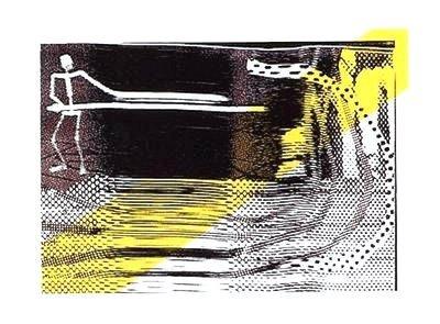 Sigmar Polke Der erste Schnitt Print Serigraph