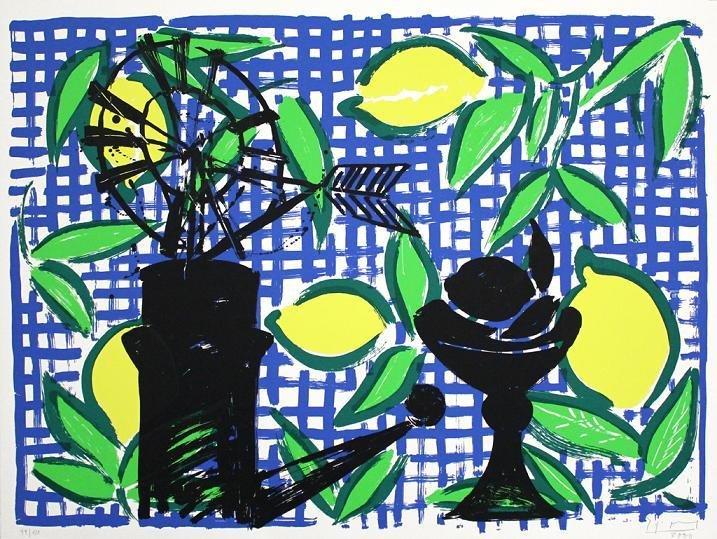 Stefan Szczesny Lemons - Mallorca Suite Print