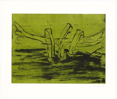 Georg Baselitz Winterschlaf X Print Aquatint