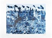 Günther Uecker Die Kunst kann den Menschen nicht retten, aber mit den Mitteln der Kunst ist ein Dialog möglich Grafik