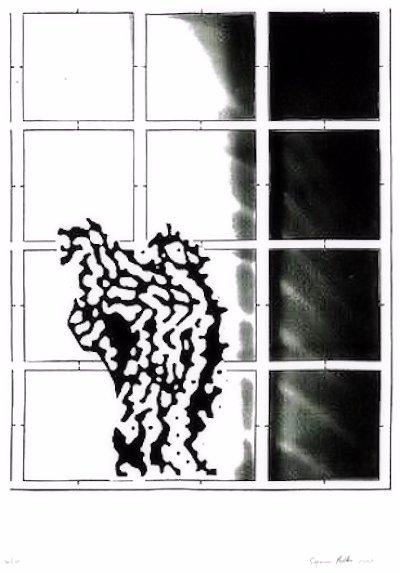 Sigmar Polke Gespenst Print Serigraph