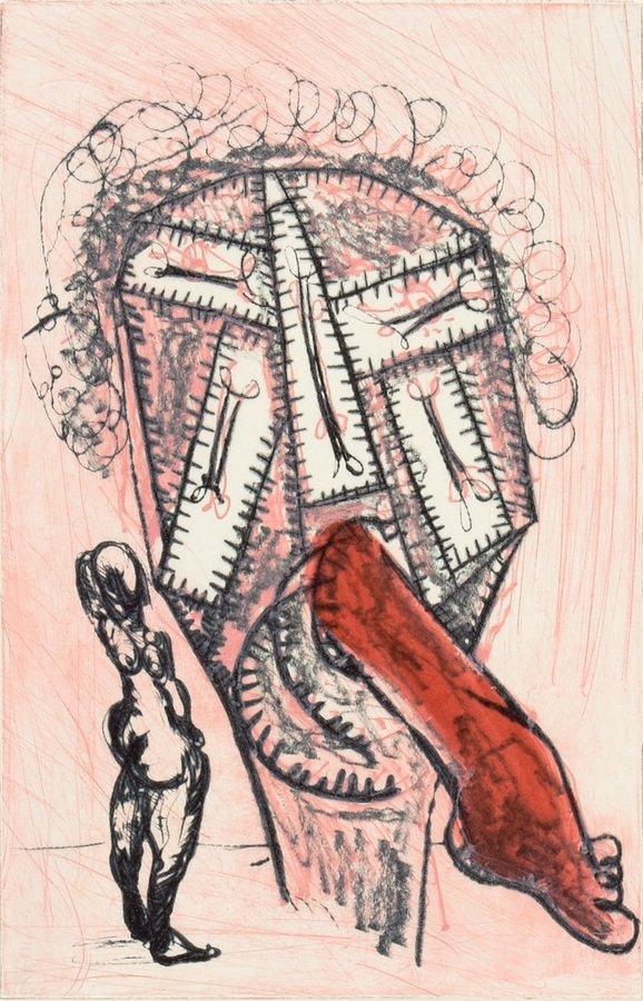 Markus Lüpertz Otello I Print Etching