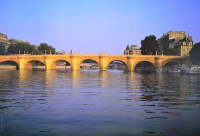 Christo Pont Neuf Wrapped Print