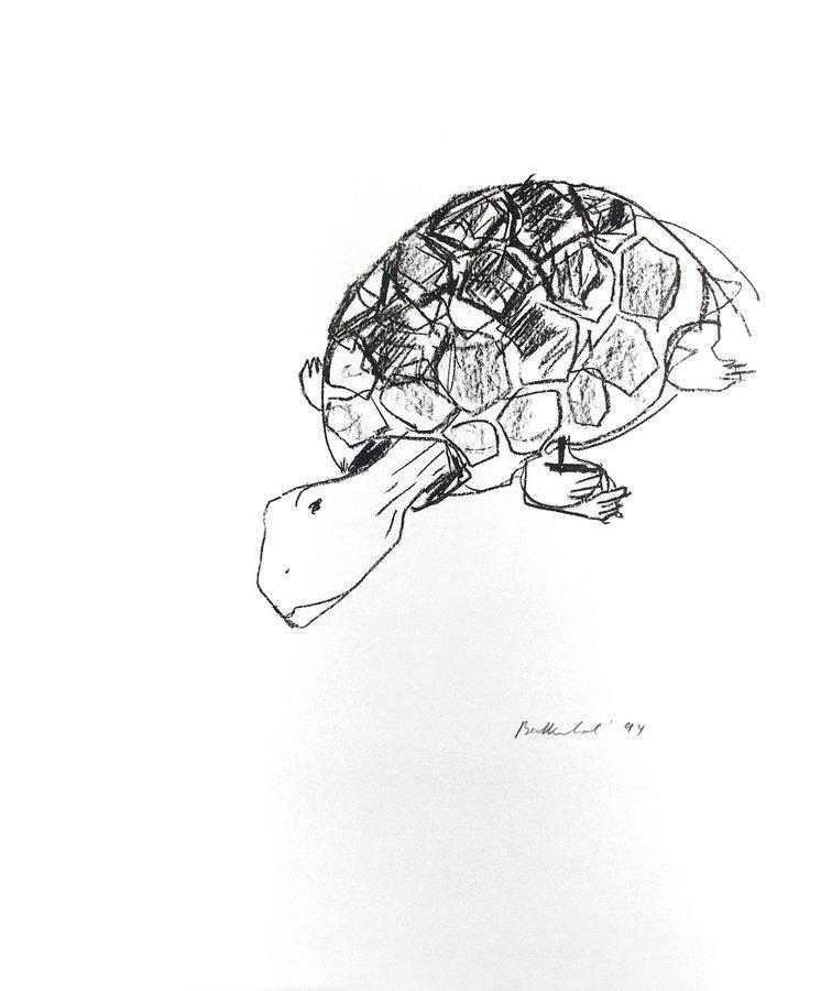 Stephan Balkenhol Schildkröte Print Lithograph