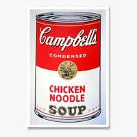 Andy warhol campbells soup chicken noodle sunday b morning 4069 small
