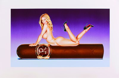 Mel Ramos Hav-a-Havanna #8 Lithografie Grafik