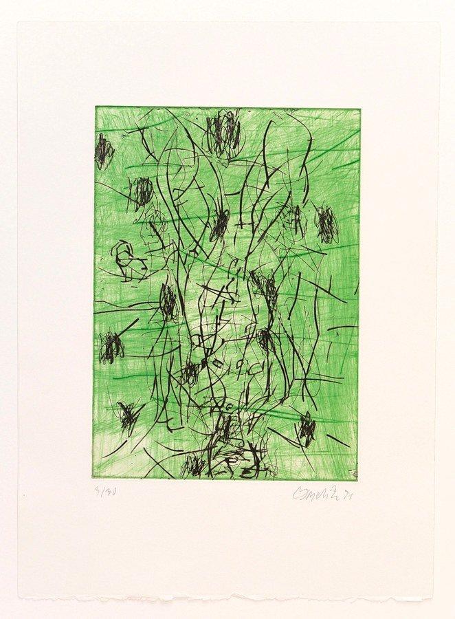 Georg Baselitz Bart Print Etching