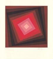 Victor Vasarely Print Voeroech II