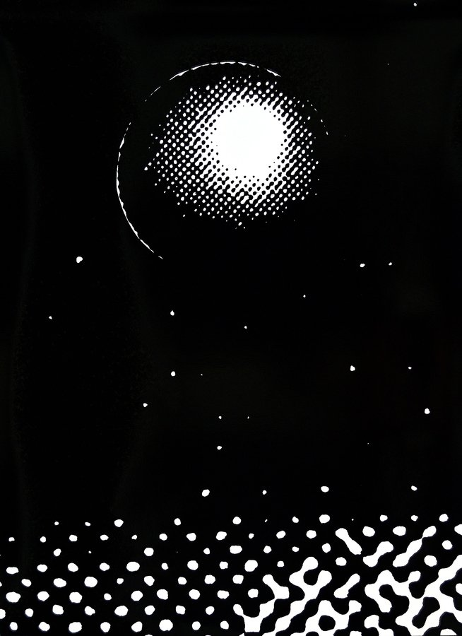 Sigmar Polke Später oder Früher Grafik Siebdruck