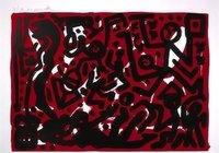 A.R. Penck Lausanne 2 Grafik Lithographie Aber Hallo