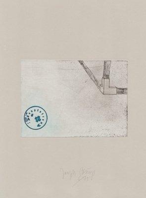 Joseph Beuys Zirkulationszeit: Raumecke, Filz, Fett Print
