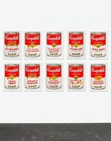 Andy Warhol Campbells Soup Can II Set Serigraph Sunday B. Morning