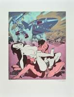 Erro Original Print Lithograph Made in Japan V