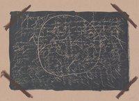 Antoni Tapies Print Llambrec Material XVI