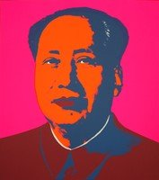 Andy Warhol Mao Pink Serigraph Sunday B. Morning